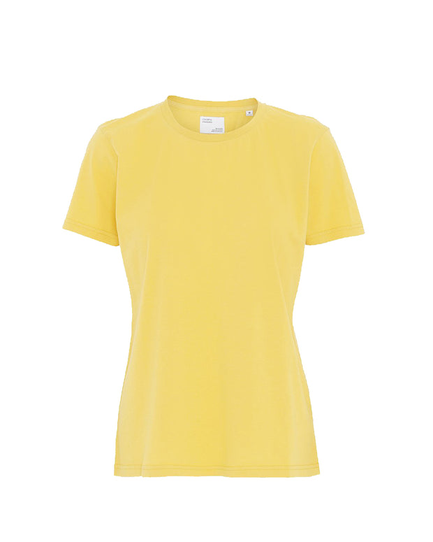 Colorful Standard W | Camiseta de manga corta Mujer - Lemon Yellow | Trait Store Barcelona