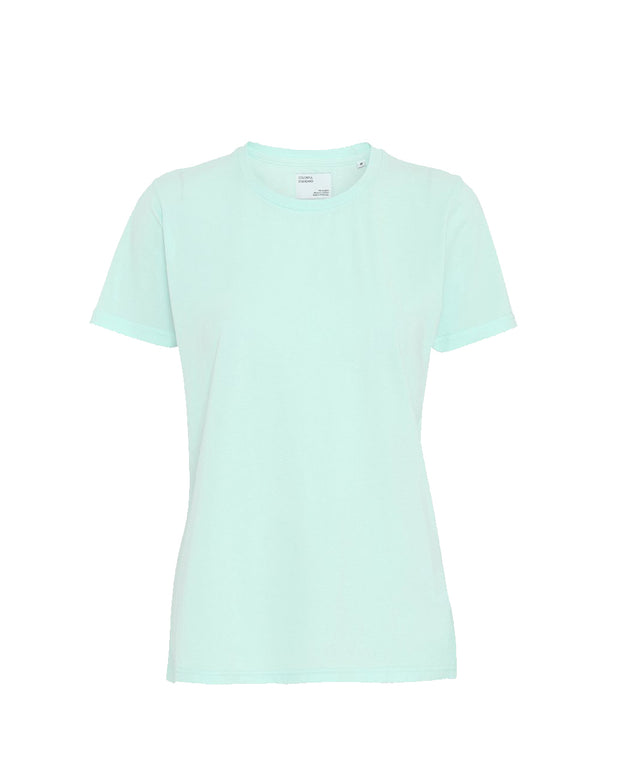 Colorful Standard W | Camiseta de manga corta Mujer - Light Aqua | Trait Store Barcelona