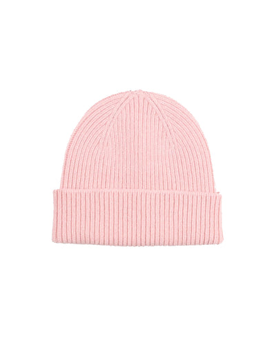 Gorro Merino Wool Beanie - Faded Pink