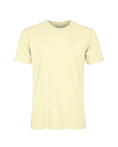 Colorful Standard | Camiseta de manga corta - Soft Yellow | Trait Store Barcelona