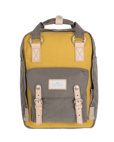 Doughnut | Mochila Macaroon - Mustard x Light Grey | Trait Store Barcelona