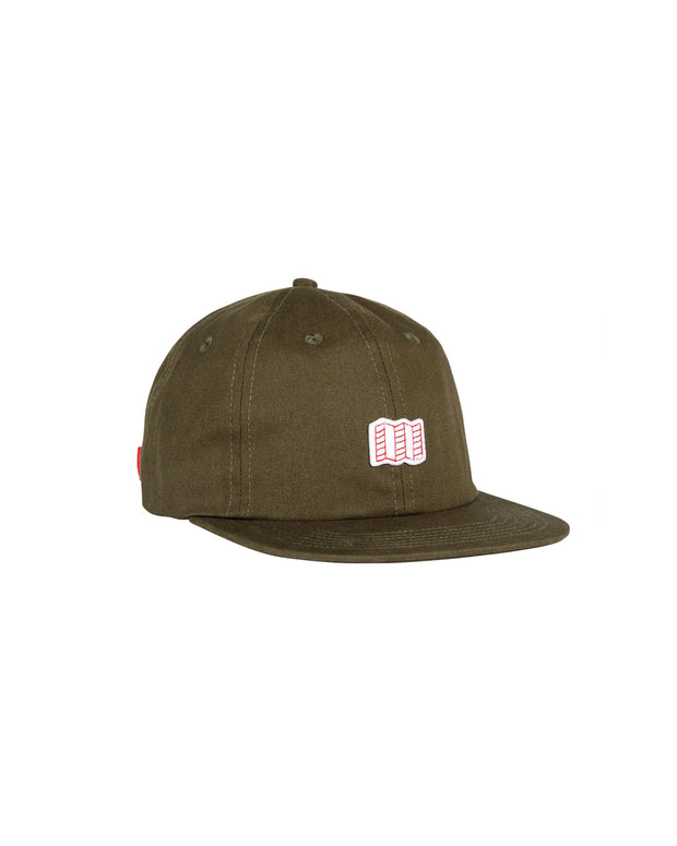 Mini Map Cap - Olive