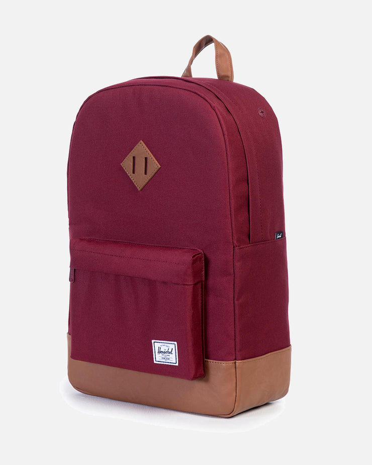 Herschel Supply Co. | Mochila Heritage - Windsor Wine/Tan | Trait Store Barcelona