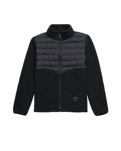 Herschel Supply Co. | Chaqueta Hybrid Sherpa Full Zip - Black | Trait Store Barcelona