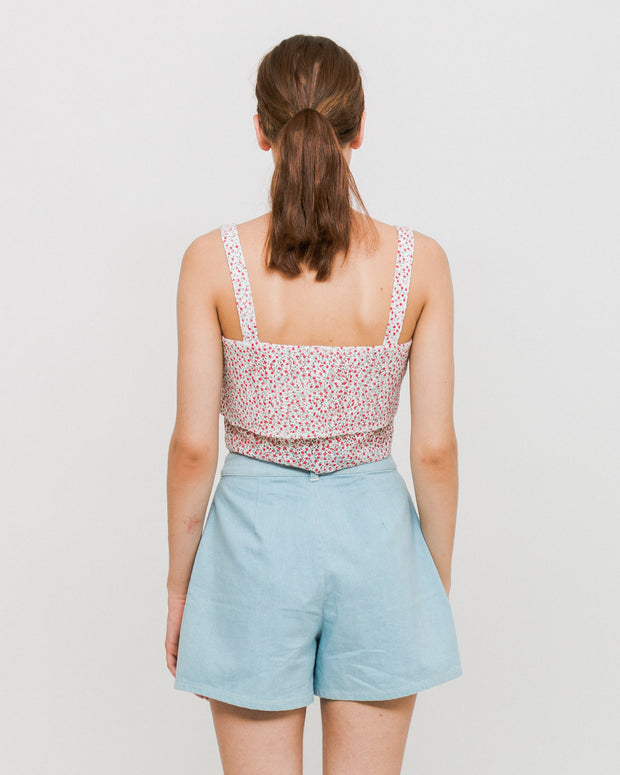 Side Party | Top Southern floral layered | Trait Store Barcelona