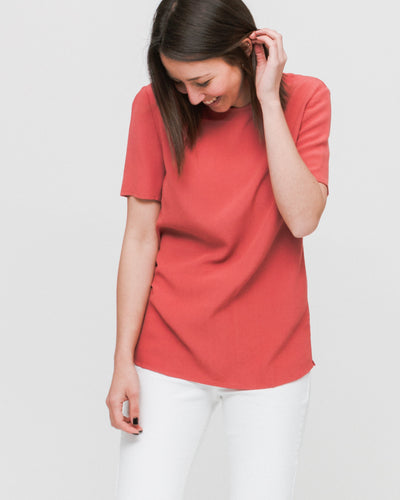 Top Herdis SS 5687 - Dusty Cedar