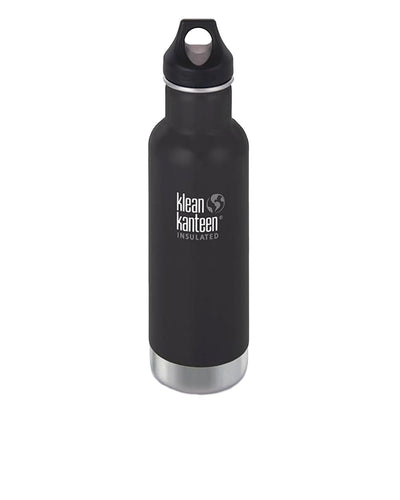 Klean Kanteen | Botella Insulated Classic 20 oz. (w/Loop Cap) - Shale Black | Trait Store Barcelona