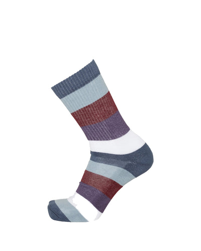Calcetines Linden Block Striped - Moonlite Ocean