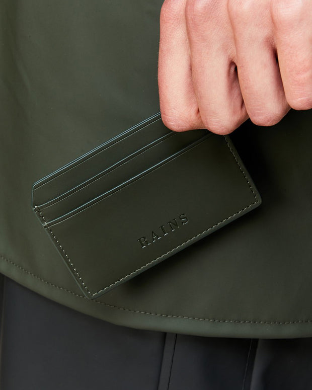 Tarjetero Card Holder - Green