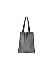 Tote Bag Transparent Shopper - Foggy Black
