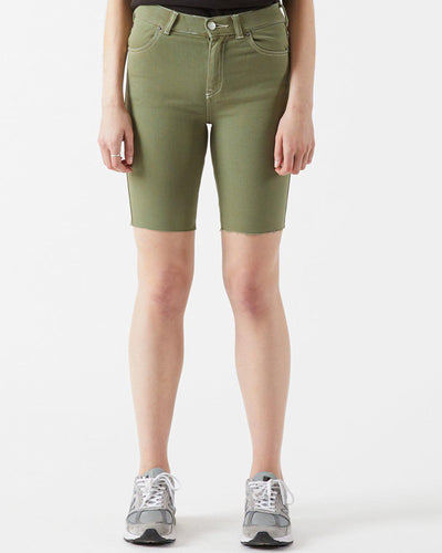 Shorts Denim Lexy Bicycle - Green Agate