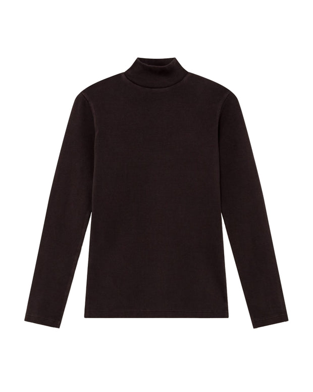 Top Rib Aine LS - Chocolate