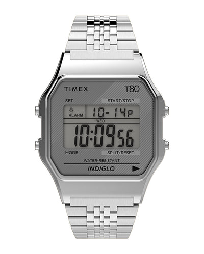 Timex T80 34mm Bracelet Watch - Silverstone