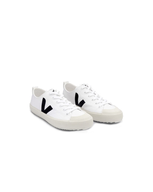 Veja | Zapatillas Nova Canvas - White Black | Trait Store Barcelona