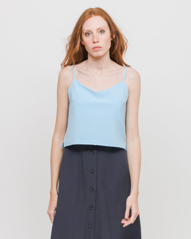 Side Party | Top Layer Up Tank - Vivid Blue | Trait Store Barcelona