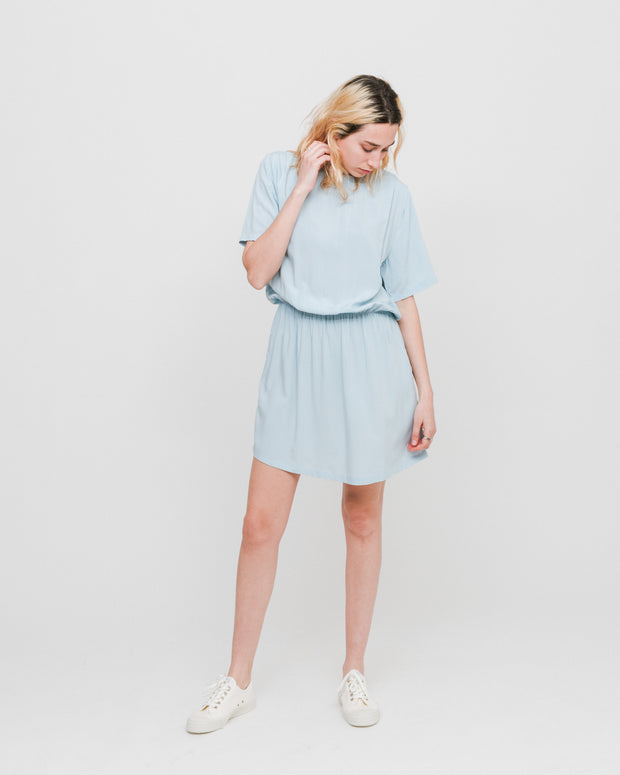 Wemoto W | Vestido Poetry - Lightblue | Trait Store Barcelona
