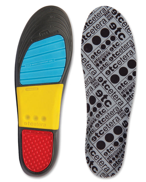 Etcetera Hi-Pro Insoles top and bottom view