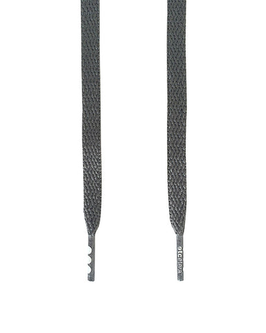 Etcetera Flat Shoe Laces - Gray
