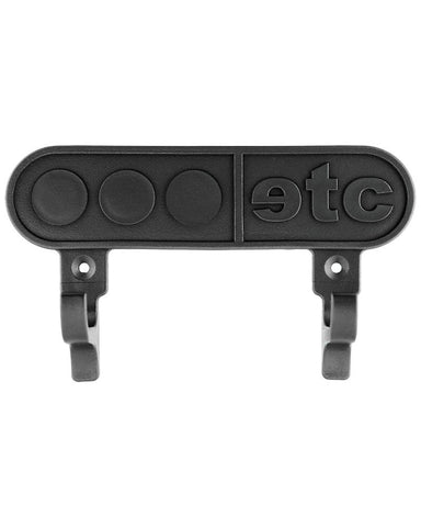 Skateboard wall mount board holder in black - by Etcetera