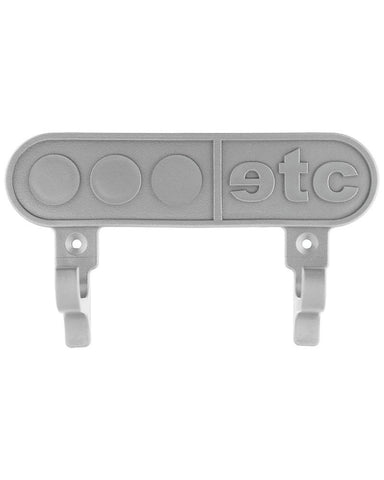 Skateboard wall mount board holder in silver - by Etcetera