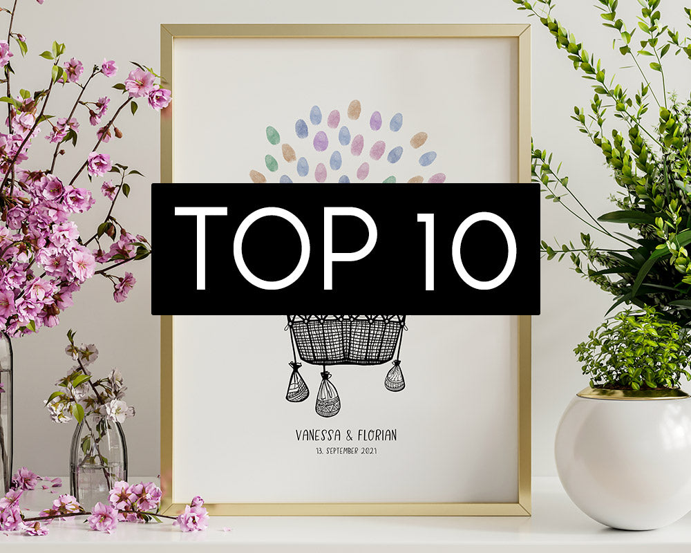 Top10 Poster bei Paperly im September 2021