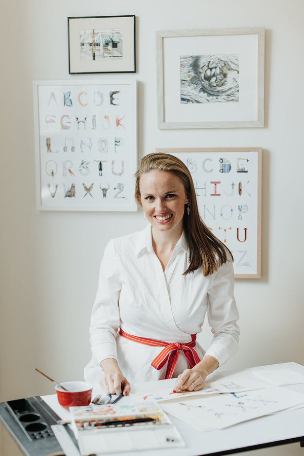 Meet The Maker: Sally King McBride of The Letter Nest