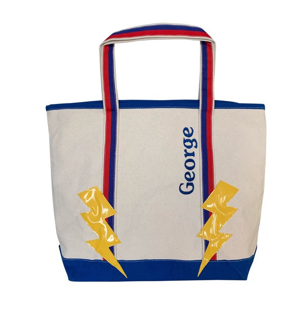 Lightning Patch Tote