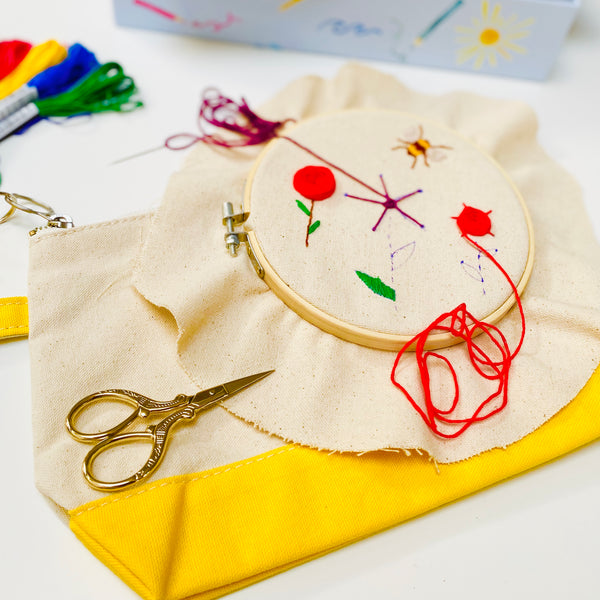 Hand Embroidery Gift Set