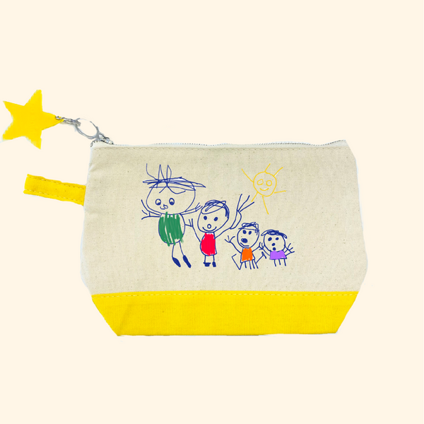 Draw Your Own Zipper Pouch Gift Set