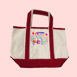 Draw Your Own Small Tote Gift Set