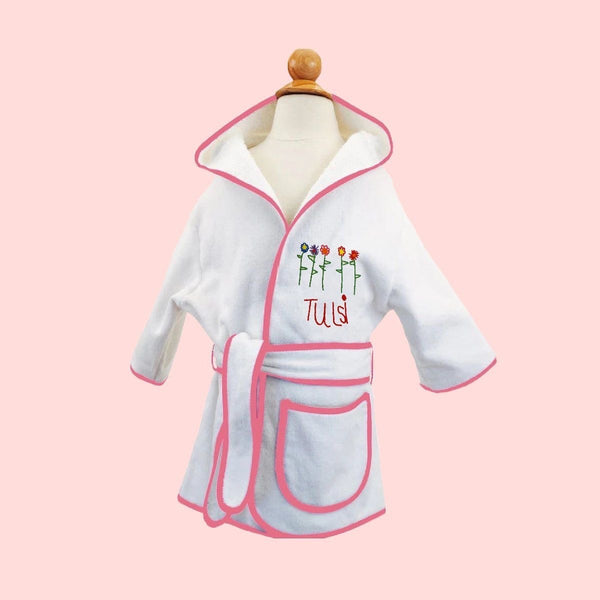 Draw Your Own Kid Robe Gift Set