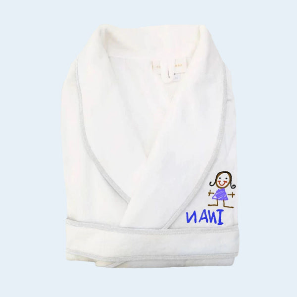 Draw Your Own Adult Robe Gift Set