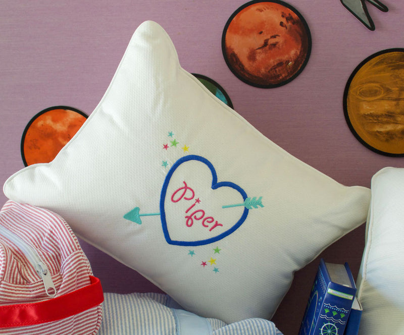 Monogrammed Mini Pillow