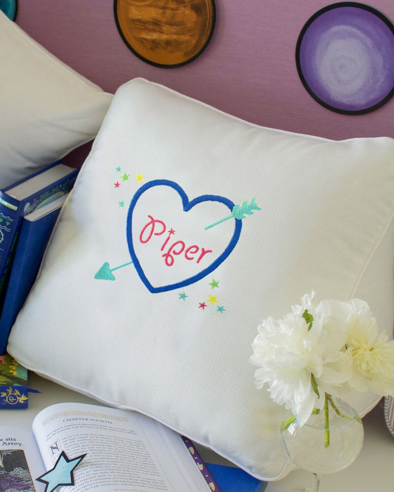 Heart Triangle Pillow