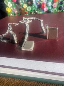 'Write Your Own Story' Book Pendant