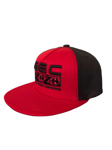 GEC RED/BLACK SNAPBACK HAT
