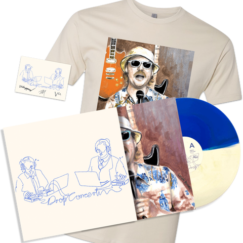 Office Hours - Drop Concert: The Soundtrack LP - TEE BUNDLE