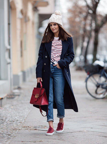 winter outfit navy outfit