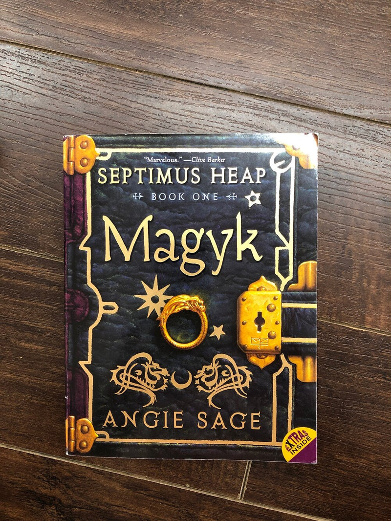 Magyk-Septimus Heap book 1-kids