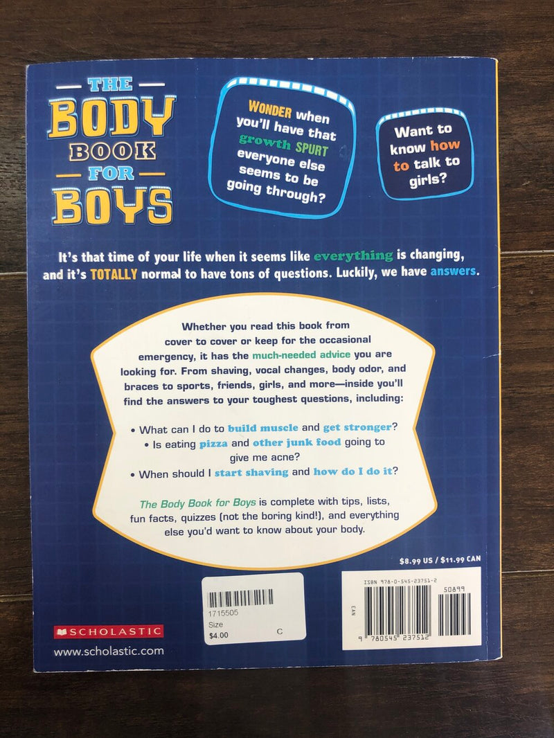 The body book for boys - Kids Book