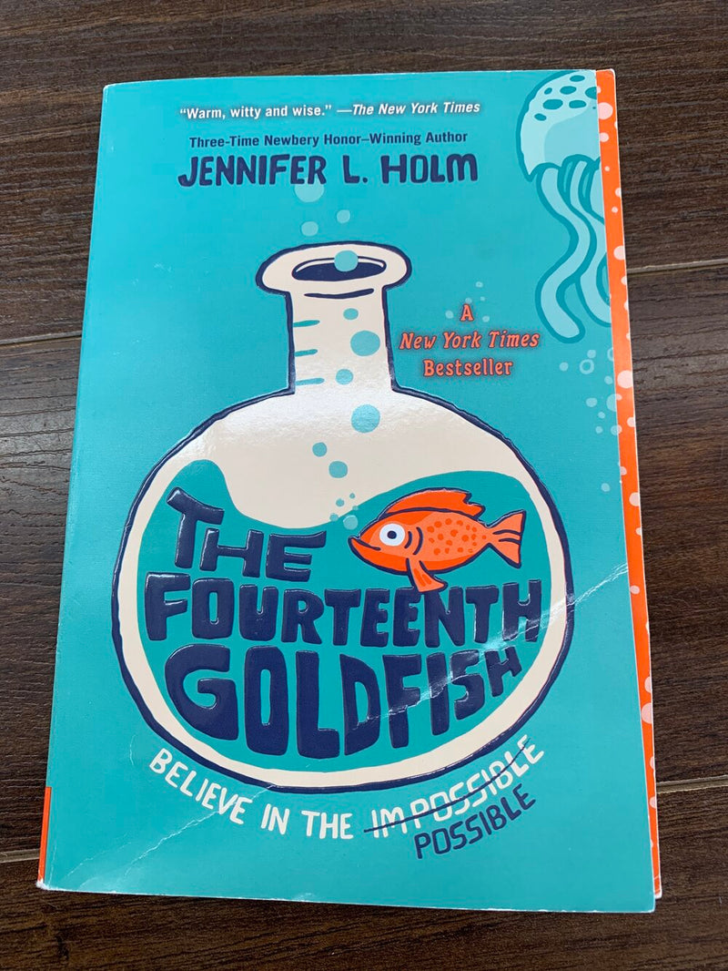 The fourteenth goldfish - Kids book