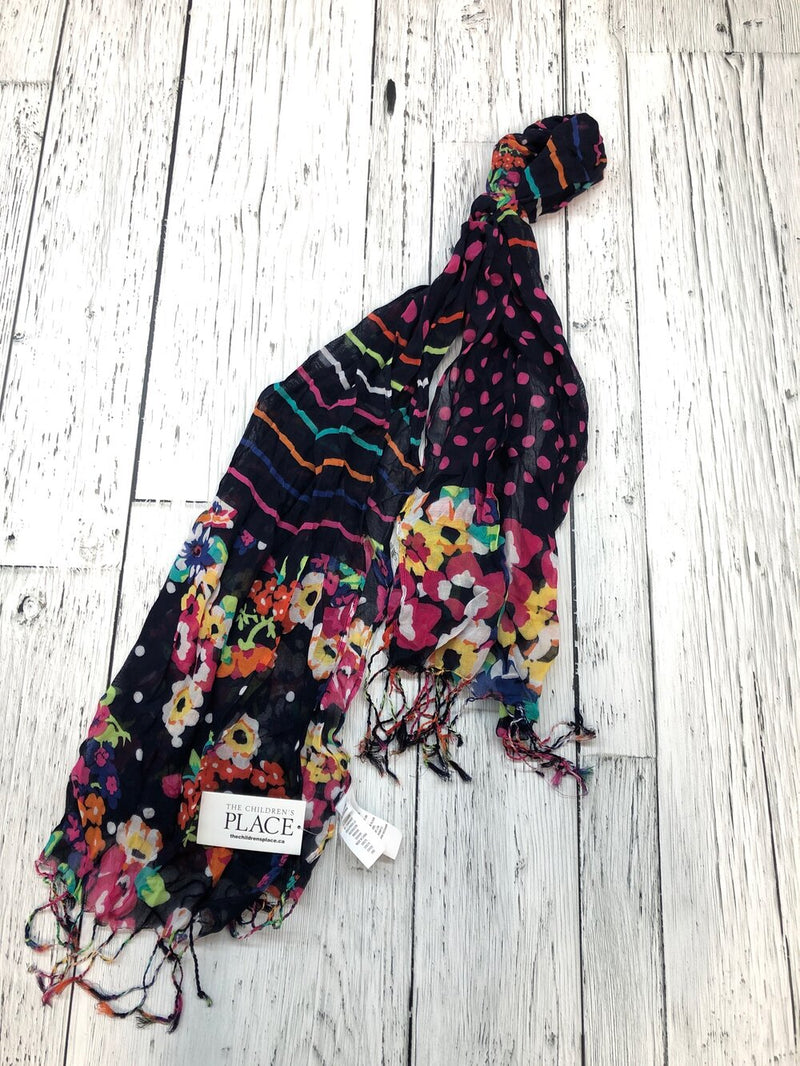 Children's Place blue floral scarf - Girls O/S