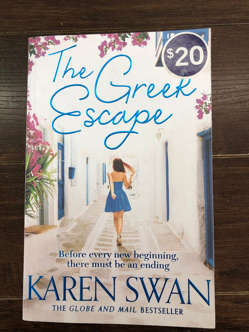 The Greek escape adult book
