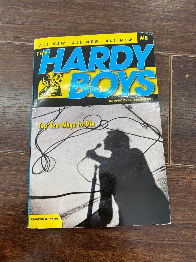 Hardy Boys Undercover brothers -Kids book