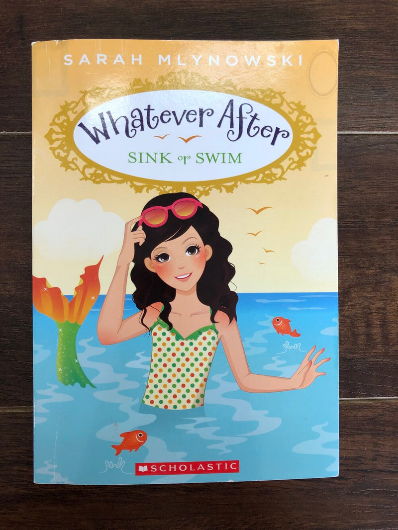 Whatever after sink or swim kids book