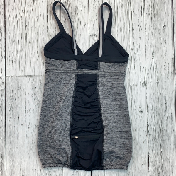 lululemon grey/black tank top - Hers 4