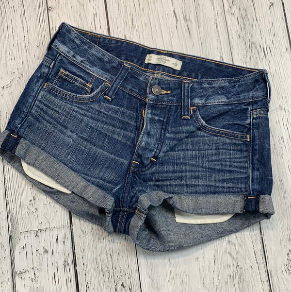 Abercrombie denim shorts - Hers XXS/24