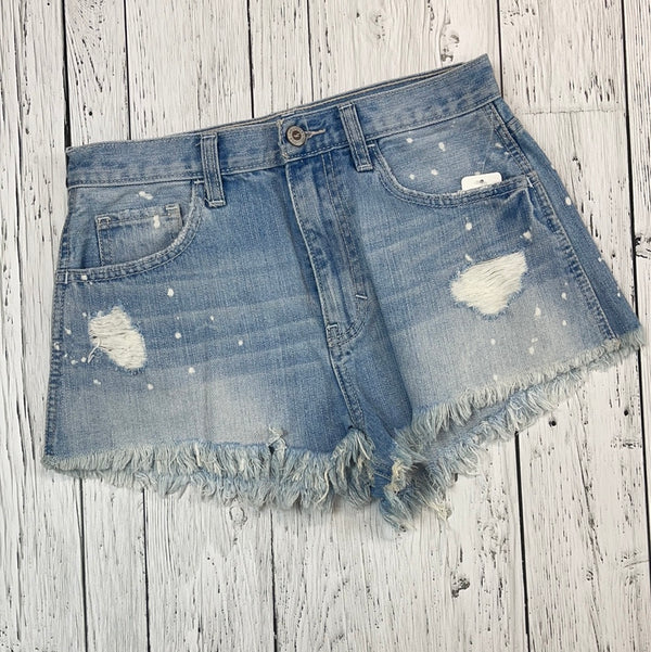 Hollister distressed jean shorts - Hers 25