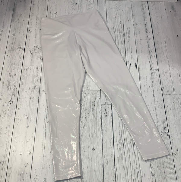 TNA 'Atmosphere' white holographic leggings - Hers L