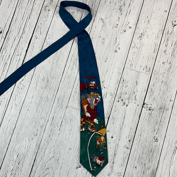 Cartoon Network Tom & Jerry golf tie - His